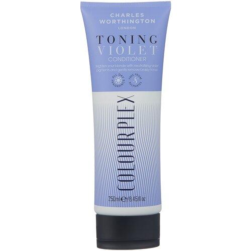 charles worthington colourplex toning blue shampoo Charles Worthington кондиционер ColourPlex Toning Violet, 250 мл