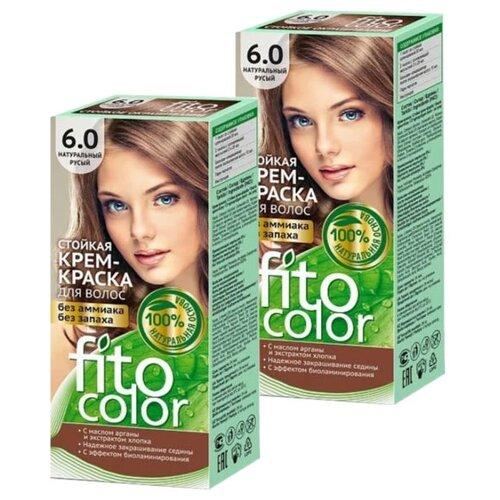 Купить Fito косметик Fitocolor крем-краска для волос набор 2 шт., 6.0 натуральный русый
