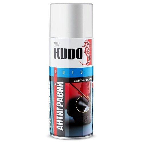Антигравий KUDO, аэрозоль, 520мл, белый