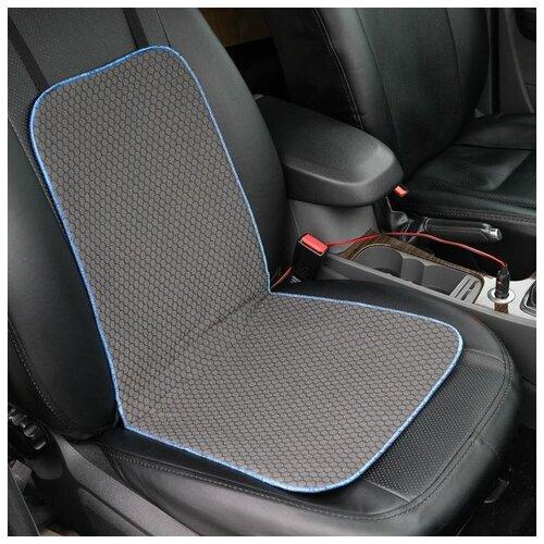 Подогрев сидений Cartage, со спинкой, без регулятора, 12 В, 50 Вт, 40х80 см 5282552
