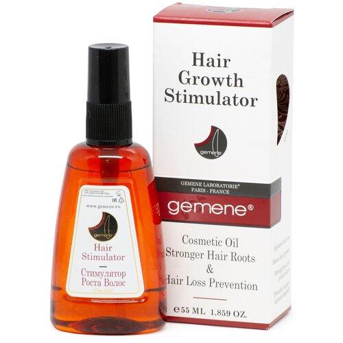 Фото - Gemene Стимулятор роста (масло) для корней волос против выпадения, 55 мл ароматика репейное масло против выпадения волос 100 мл