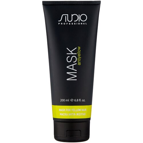 Фото - Kapous Professional Studio Professional Маска для волос Анти-желтая «Antiyellow», 200 мл kapous professional тальк для