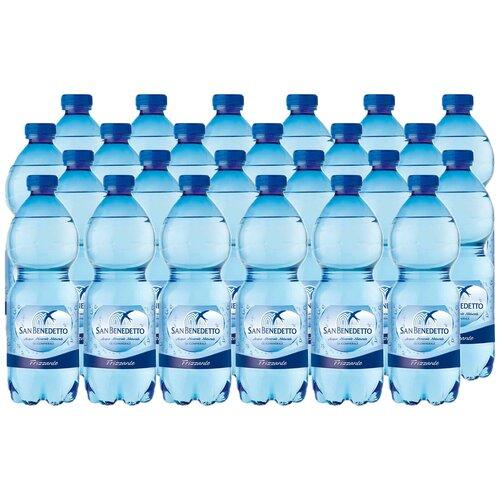 Минеральная вода San Benedetto газированная, ПЭТ, 24 шт. по 0.5 л вода san bernardo газированная 1 л