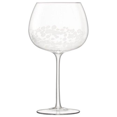 LSA Набор бокалов Stripple G1443-23-602 2 шт., 650 мл белый