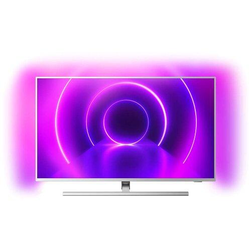 Фото - Телевизор Philips 65PUS8505 65 (2020), светло-серебристый телевизор philips 50pus6654 50 2019 серебристый металлик
