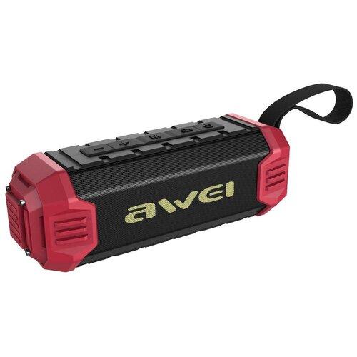 awei ak8 red black Портативная акустика Awei Y280, red