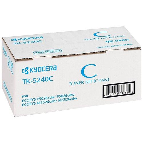 Фото - Картридж KYOCERA TK-5240C картридж kyocera tk 510m