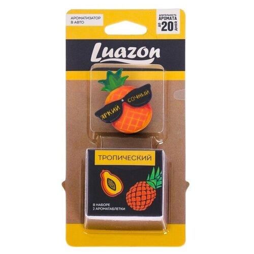 Фото - Luazon Ароматизатор для автомобиля Яркий, сочный Тропический luazon ароматизатор для автомобиля яркий сочный тропический