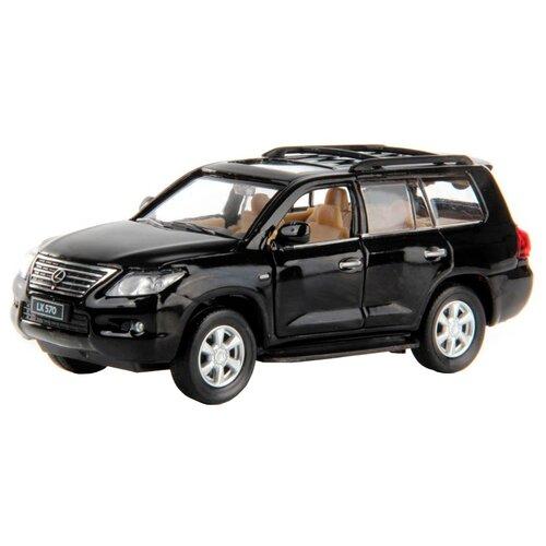 Фото - Внедорожник Hoffmann Lexus LX570 (102779) 1:32 18 см черный внедорожник hoffmann lexus lx570 102779 1 32 18 см черный