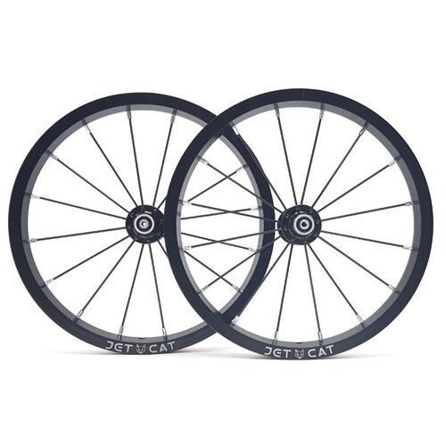 Колеса JETCAT Wheels Pro Single 14 2 шт. (без покрышек), черный