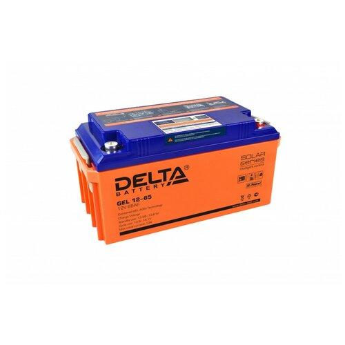 Аккумулятор Delta GEL 12-65 аккумулятор delta battery gel 12 55