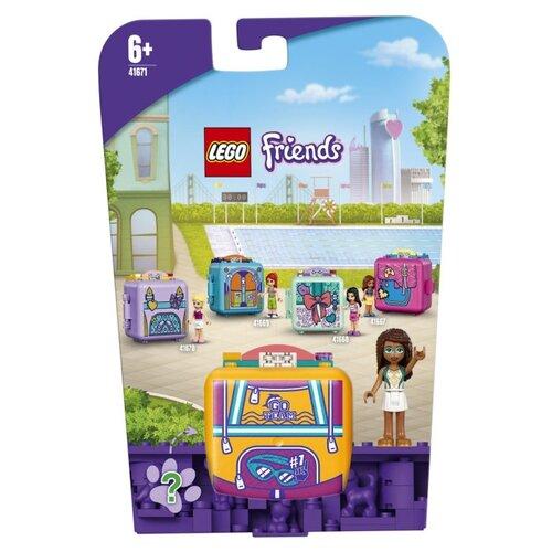 Купить Конструктор LEGO Friends 41671 Кьюб Андреа для плавания, Конструкторы