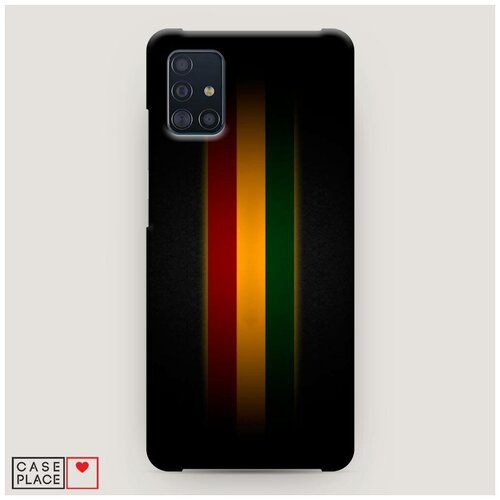 Чехол Пластиковый Samsung Galaxy A51 Раста 1