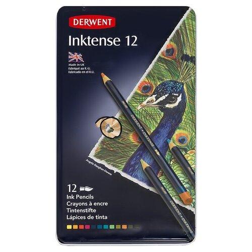 Купить Derwent Набор чернильных карандашей 12 цвInktense 0700928 1 шт., Цветные карандаши