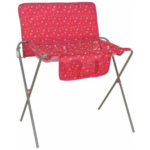 8773-1 Пеленальный столик для кукол 50*30*70 см Buggy Boom Loona (розовый с сердечками)