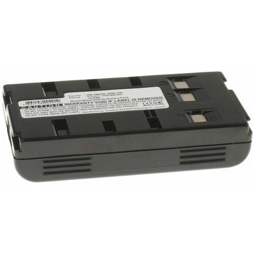 Фото - Аккумуляторная батарея iBatt 2100mAh для JVC GR-AX528, GR-FX505, GR-SX202, GR-FXM37, GR-M51, для Panasonic NV-S70, NV-S88E, NV-S850, NV-RX1EG, NV-R11, PV-22 аккумулятор ibatt ib u1 f178 4200mah для jvc gr sxm50e gr fx18e gr sx210a gr sx26e gr sx24 gr ax210 gr fx12 gr fxm42e gr sxm260u gr ax200 gr ax201 gr ax827 gr fx17e gr fxm40e gr fxm41e gr ax400