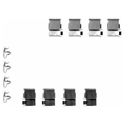 Комплект монтажный тормозных колодок Hella 8DZ 355 202-371