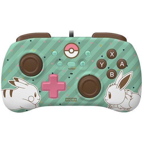 Геймпад HORIPAD MINI Pikachu Eevee для Nintendo Switch (зелёный)