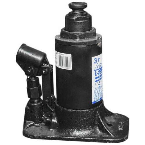 Домкрат бутылочный гидравлический ШААЗ ДГТ3-3913010 (3 т) черный