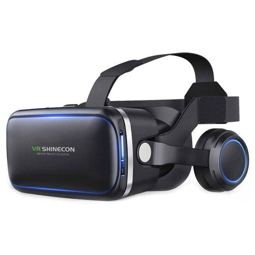 Очки виртуальной реальности VR Shinecon 6.0 с наушниками черный