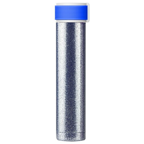 Термобутылка Asobu Skinny Glitter, 0.23 л blue