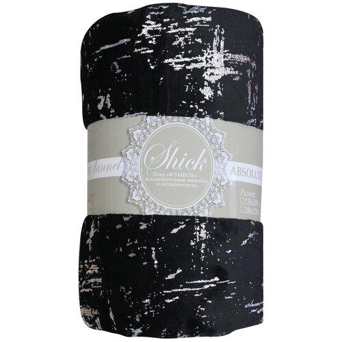 Плед Absolute TF FNL 1520 s-мазки 150 х 220 см, черный