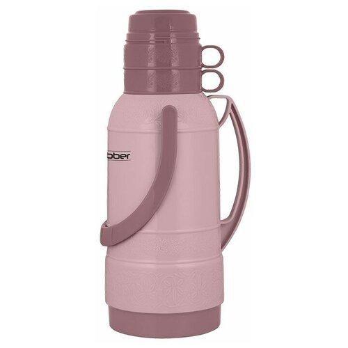 Классический термос Webber 25032, 3.2 л бежевый/розовый