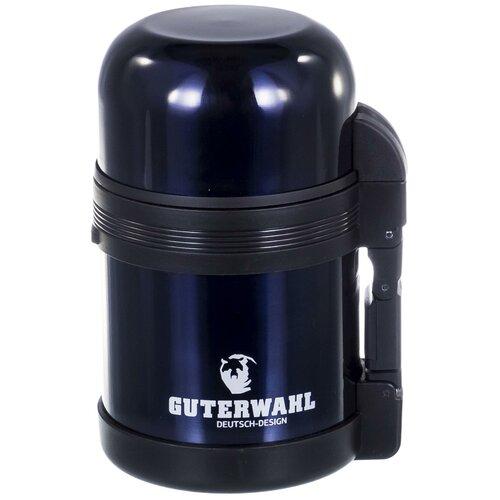 Классический термос Guterwahl Keep warm, 0.6 л темно-синий