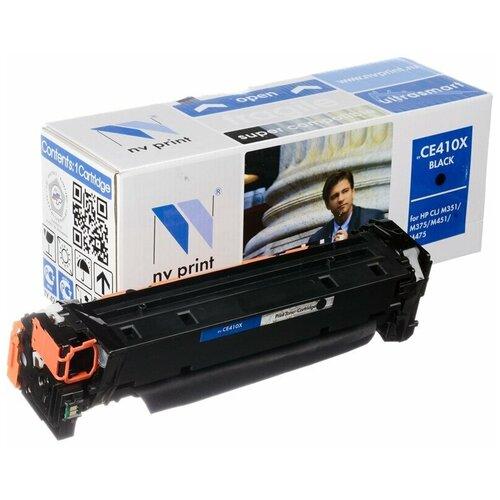 Фото - Картридж NV Print CE410X для HP, совместимый картридж nv print cf280x ce505x для hp совместимый