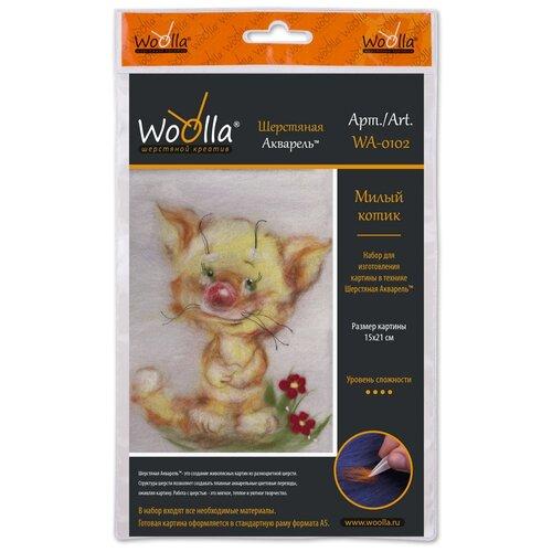 Купить Woolla WA-0102 набор Милый котик ., Валяние