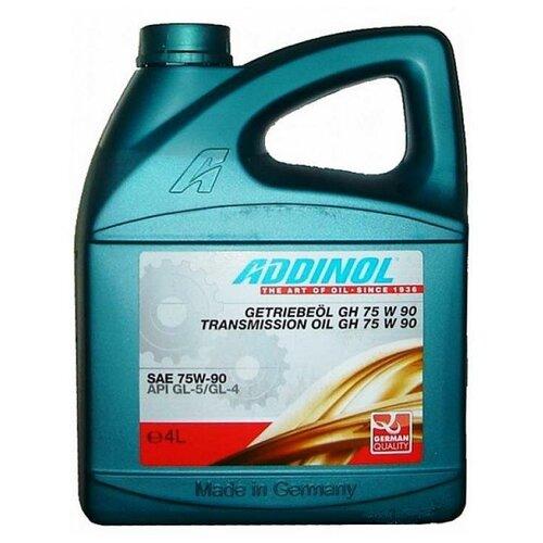 Трансмиссионное масло ADDINOL GH 75W-90 4 л