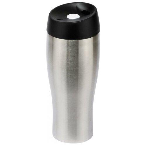 Термокружка REGENT inox Gotto 93-TE-GO-5-450.1, 0.45 л серебристый/черный