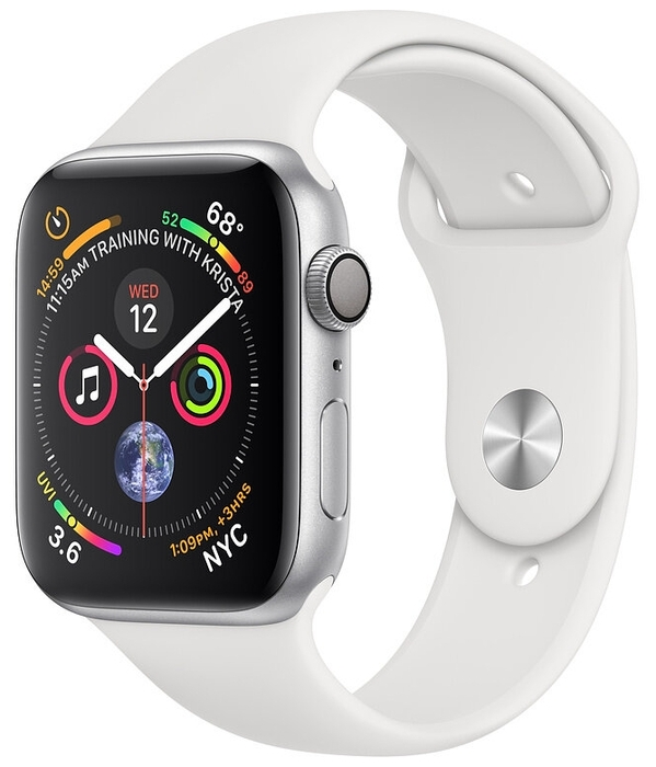 Умные часы Apple Watch Series 4 GPS 40мм Aluminum Case with Sport Band
