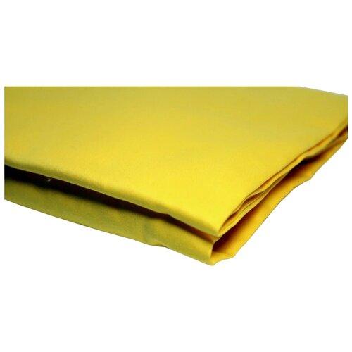 Простыня УЮТНАЯ ИСТОРИЯ сатин на резинке (P16080) желтый