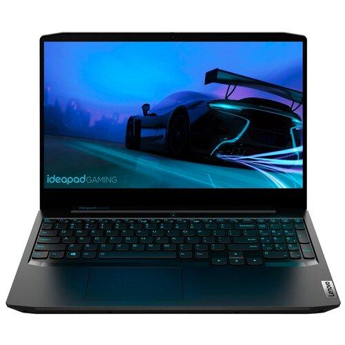 Фото - Ноутбук Lenovo IdeaPad Gaming 3 15 (/15.6/1920x1080) (/15.6/1920x1080) (/15.6/1920x1080) (/15.6/1920x1080) (Intel Core i5 10300H 2500MHz/15.6/1920x1080/8GB/512GB SSD/NVIDIA GeForce GTX 1650 Ti 4GB/Windows 10 Home) 81Y40173RU, onyx black ноутбук acer predator helios 300 ph315 53 15 6 1920x1080 15 6 1920x1080 50ql intel core i5 10300h 2500mhz 15 6 1920x1080 8gb 512gb ssd nvidia geforce gtx 1650 ti 4gb windows 10 home nh q7wer 005 черный
