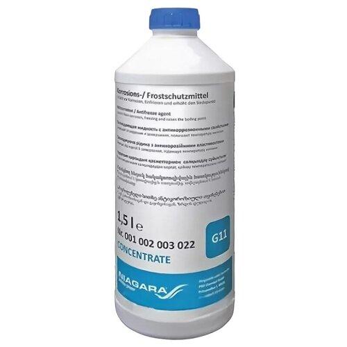 Антифриз NIAGARA Антифриз BLUE G11 concentrate 1.5 л