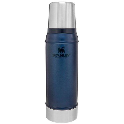 Классический термос STANLEY Classic Vacuum Insulated Bottle, 0.75 л синий