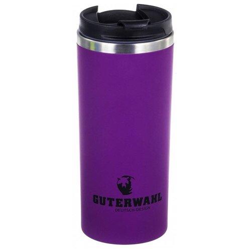 Термокружка Guterwahl Keep warm, 0.38 л фиолетовый