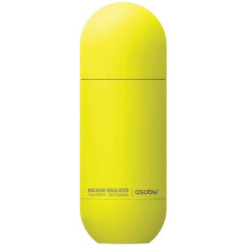 Термобутылка Asobu ORB SBV30, 0.42 л желтый