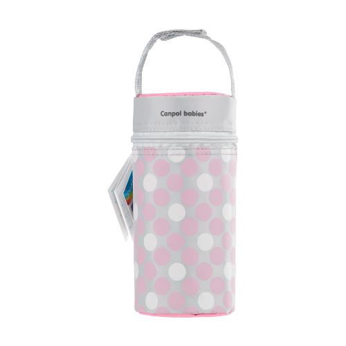 Купить Canpol Babies Термосумка для детских бутылочек Retro (69/010), розовый, Бутылочки и ниблеры