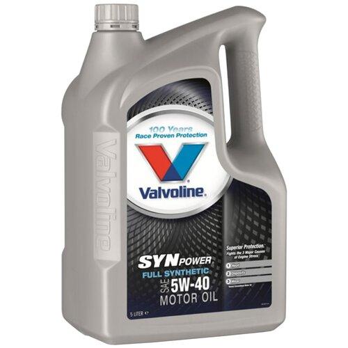 Синтетическое моторное масло VALVOLINE SynPower 5W-40, 5 л