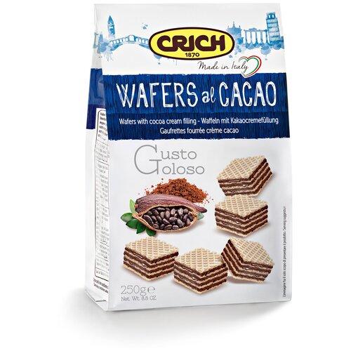 Фото - Вафли Crich Вафли Crich с какао-кремовой начинкой, 250 г вафли crich с ягодно кремовой начинкой 250 г