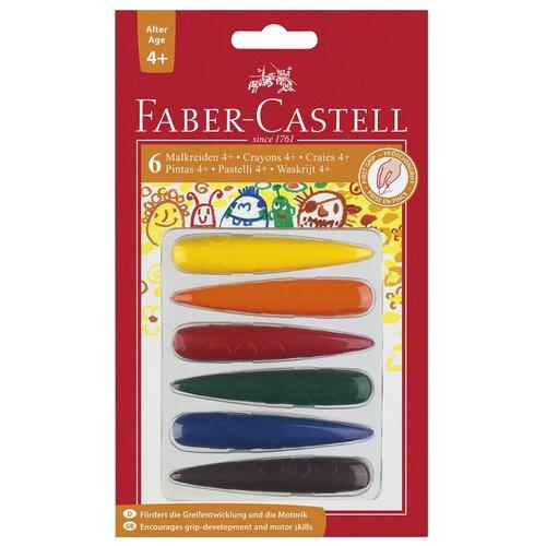 Faber-Castell Мелки для дошкольного возраста, 6 цветов