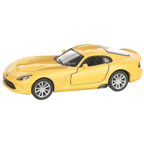 Легковой автомобиль Serinity Toys 2013 Dodge SRT Viper GTS (5363DKT), желтый