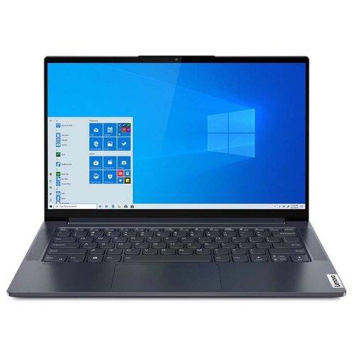 "Ноутбук Lenovo Yoga Slim 7 14IIL05 (Intel Core i7 1065G7 1300MHz/14""/3840x2160/16GB/1024GB SSD/Intel Iris Plus Graphics/Windows 10 Home) 82A10086RU slate grey"