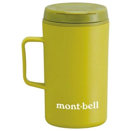 Термокружка MontBell Termo Mug MB Logo, 0.33 л зеленый