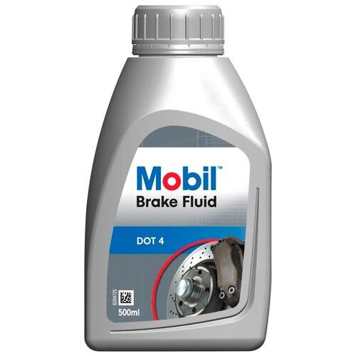 Тормозная жидкость MOBIL Brake Fluid DOT 4 0.5 л
