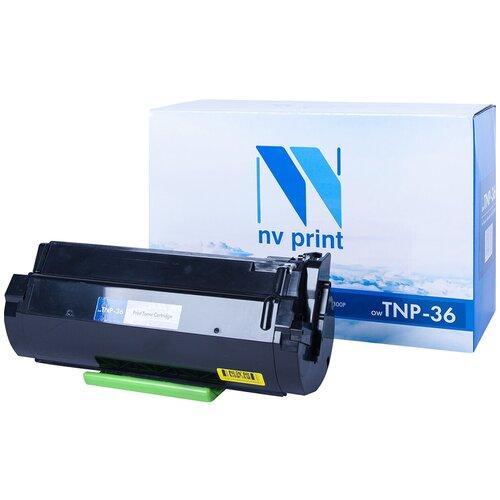 Картридж NV Print TNP-36 для Konica, совместимый картридж nv print tnp 27k 2100стр черный