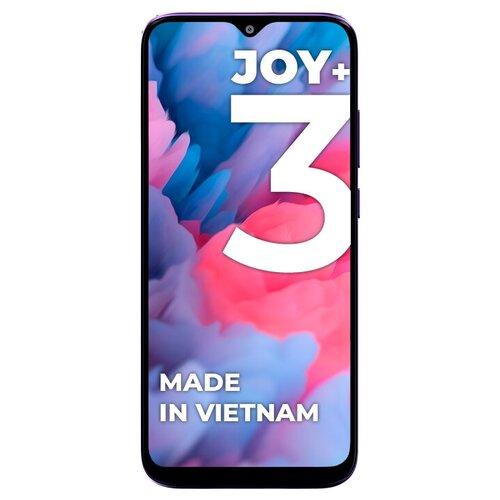 Смартфон Vsmart Joy 3+ 4/64GB, пурпурный топаз сотовый телефон vsmart joy 3 4 64gb purple topaz