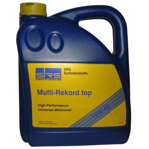 Минеральное моторное масло SRS Multi-Rekord top 15W40, 4 л
